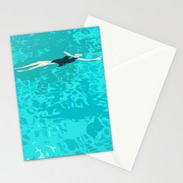Ophelia Forgot Her Snorkel Again Stationery Cards