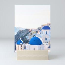 214. Santorini's View, Greece Mini Art Print