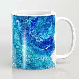 Dark Ocean Blue Coffee Mug