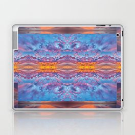 Fire in the Sky Quilt Laptop & iPad Skin