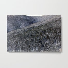 The Busy Mountain Metal Print
