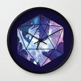 D20 Dragon Bright Soul Wall Clock