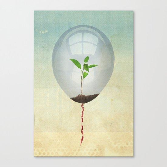 micro environment Canvas Print