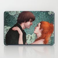 eternal sunshine iPad Cases featuring Eternal Sunshine - Meet Me In Montauk by Angela Rizza