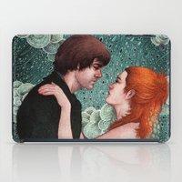 eternal sunshine iPad Cases featuring Eternal Sunshine - Meet Me In Montauk by Angela Rizza