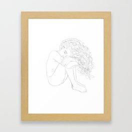 Vulnerability Framed Art Print