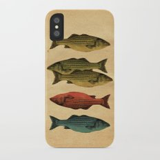 One fish Two fish... iPhone X Slim Case