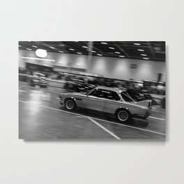 BMW 3.0 CSL Batmobile Metal Print
