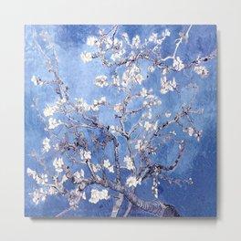 Vincent Van Gogh Almond BlossomS Blue Metal Print