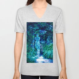 Blue Spirit Unisex V-Neck