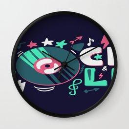 Rocker Wall Clock