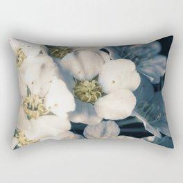 Bridal wreath flowers Rectangular Pillow