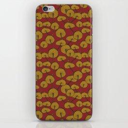Red Mushrooms iPhone Skin