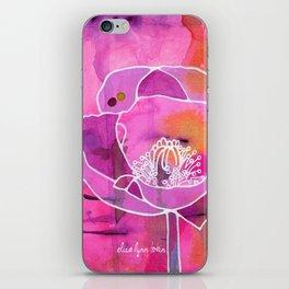 Pretty Poppy iPhone Skin