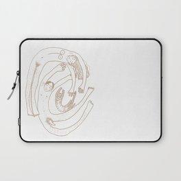 Familienwirbel hell Laptop Sleeve