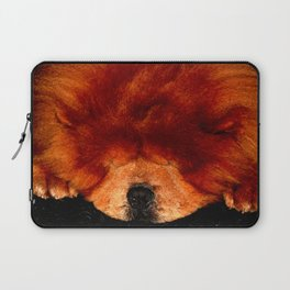 Sleeping Chow Chow Laptop Sleeve