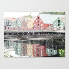 The Bridge to Better Things Canvas Print