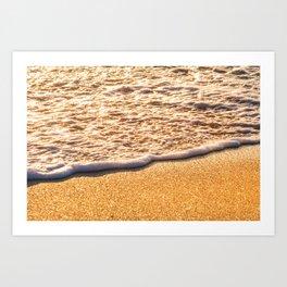 Atlantic Ocean Waves 4206 Art Print