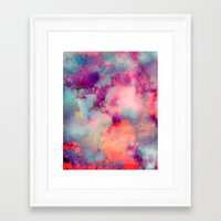yellow Framed Art Prints featuring Untitled 20110625p (Cloudscape) by tchmo