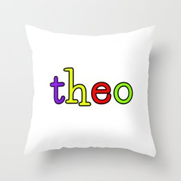 theo Throw Pillow
