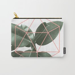 Geometric greenery Carry-All Pouch