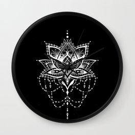 Mandala Roelie Negatief Wall Clock