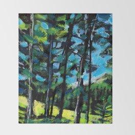 Greywolf Golf Course / Dennis Weber / ShreddyStudio Throw Blanket