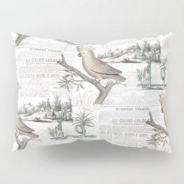 Paris Cockatoo Toile Pillow Sham
