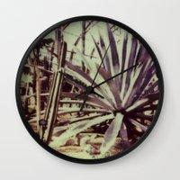 garfield Wall Clocks featuring Garfield Conservatory  by Misha Ashton-Moore