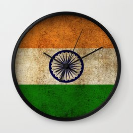 India Flag Wall Clock