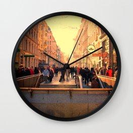 Vienna Shopping strip Wall Clock