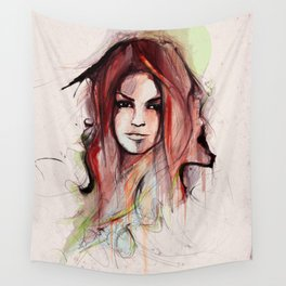 Beauty is Power Wall Tapestry
