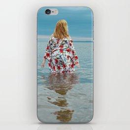 Woman in the Water iPhone Skin
