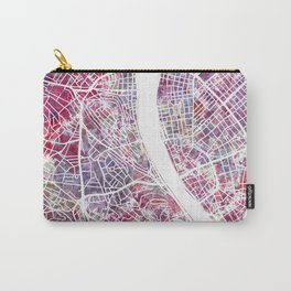 Budapest map Carry-All Pouch