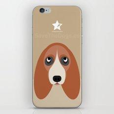 Basset iPhone & iPod Skin