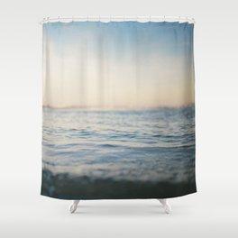 Sinking in Thin Air Shower Curtain