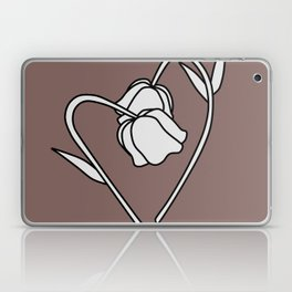 Flower in love Laptop & iPad Skin