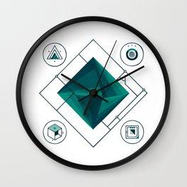 Prism Wall Clock