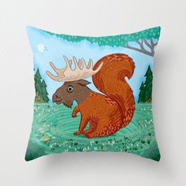 The Squoose Throw Pillow