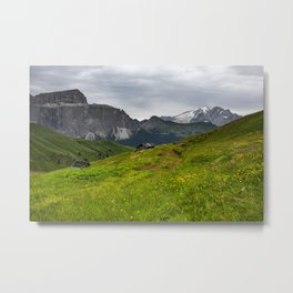 Alpine view (Italy) Metal Print