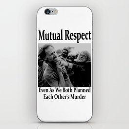 Werner Herzog and Klaus Kinski's Mutual Respect iPhone Skin