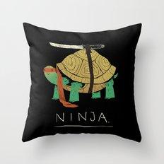 ninja Throw Pillow
