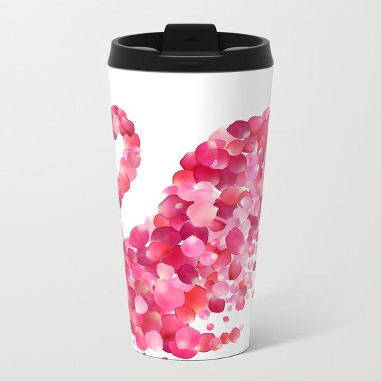 Swan Metal Travel Mug