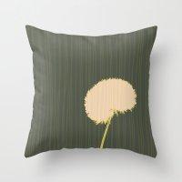 randy c Throw Pillows featuring Randy Dandy by Endless Summer