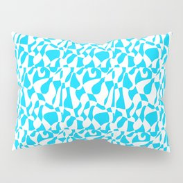 blue abstraction 2 – abstraction,abstract,minimalism,cerulean, bluish,reverie Pillow Sham