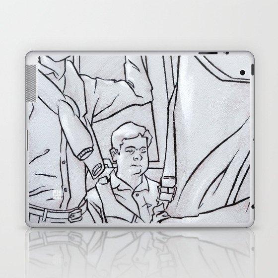 SUBWAY 1 Laptop & iPad Skin