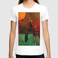 takmaj T-shirts featuring Jump on the green city by Ganech joe