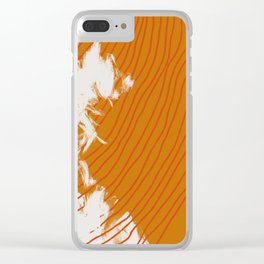 pencil shavings Clear iPhone Case