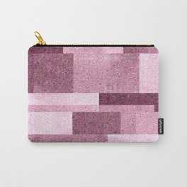 Pink Squared Carry-All Pouch