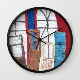 Unhinged Wall Clock